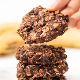 Insanely Healthy Oatmeal Cookies