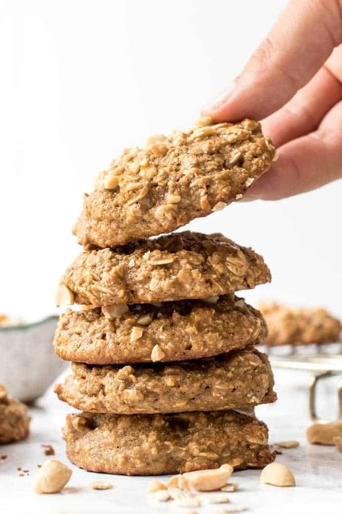 Ultimate Peanut Butter Cookie with Oats and Quinoa