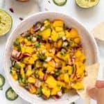 How to Serve Mango Salsa