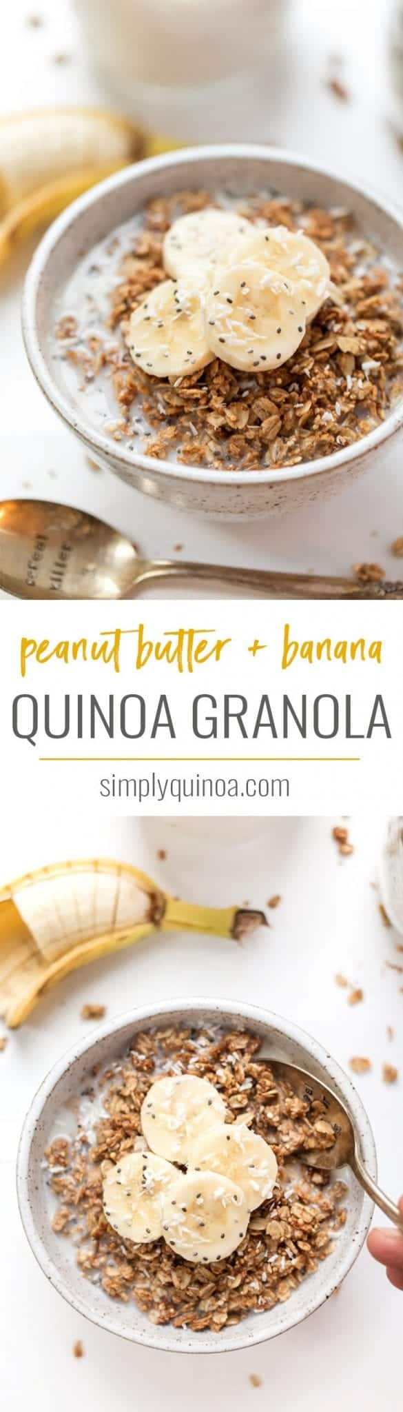 healthy peanut butter banana granola recipe