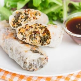Vegetable Quinoa Spring Rolls