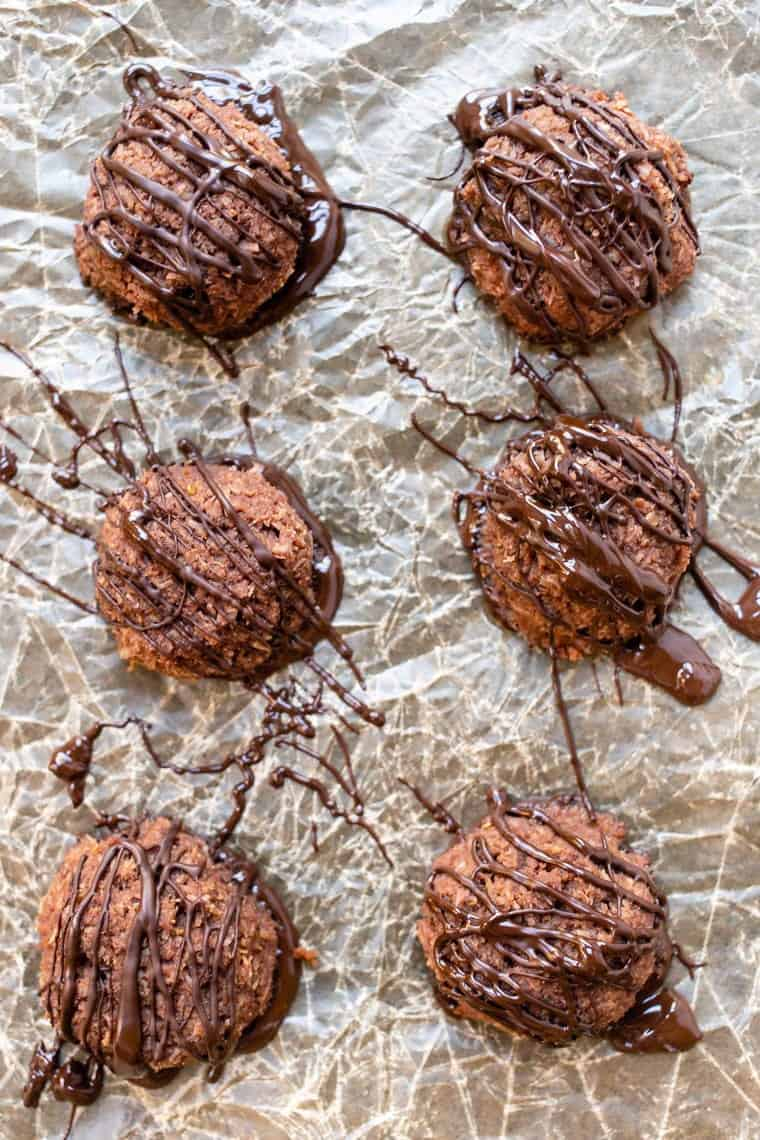 Healthy Chocolate Macaroons Recipe
