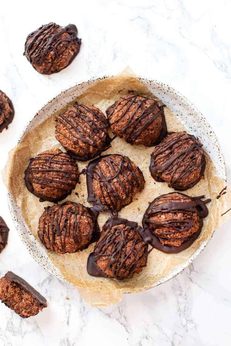 No Bake Macaroons Recipe