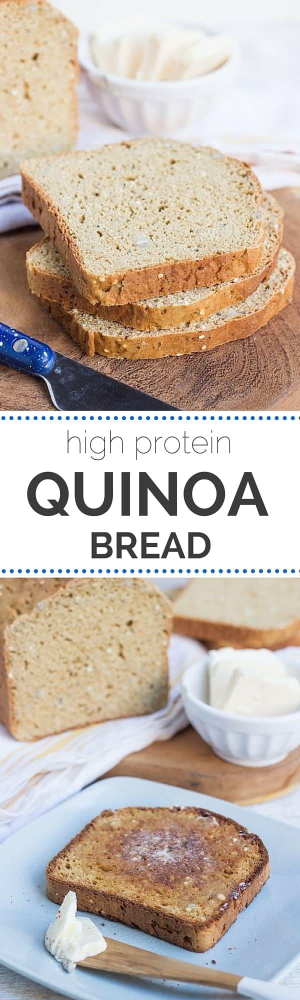 make quinoa bread