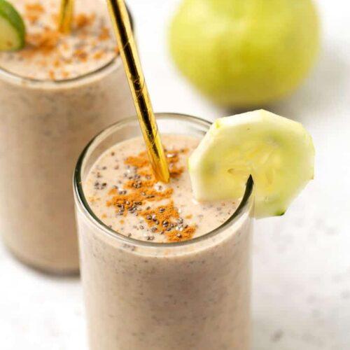 Cucumber Pear Smoothie Recipe