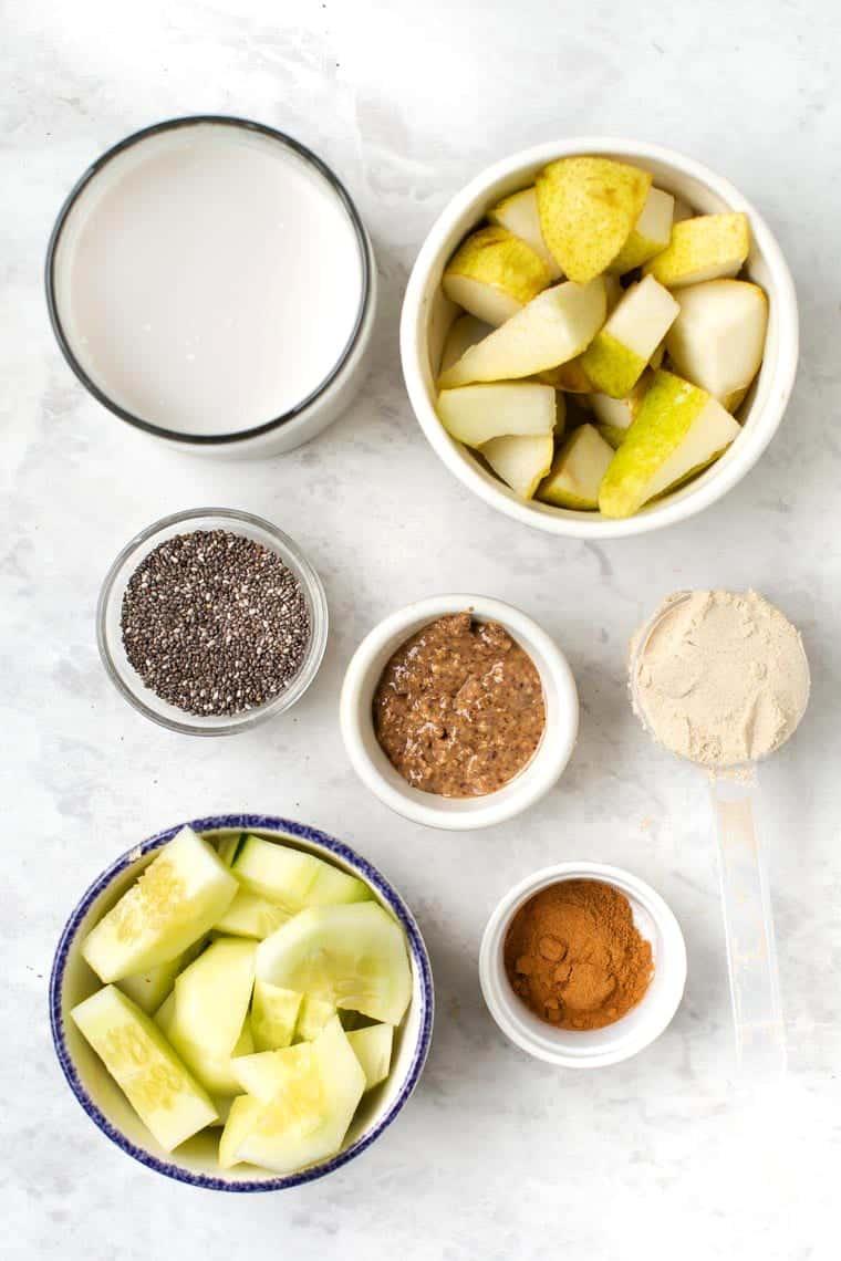 Pear Smoothie Ingredients