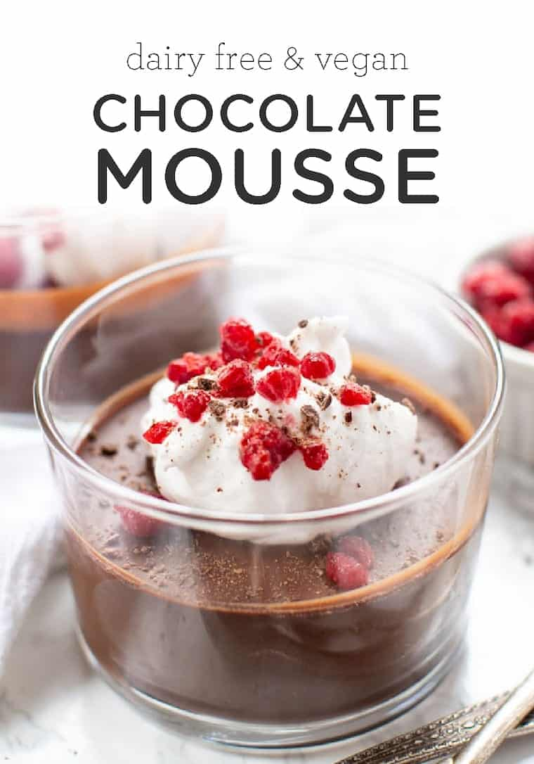 Best Dairy-Free Chocolate Mousse