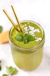 Green Melon Smoothie Recipe