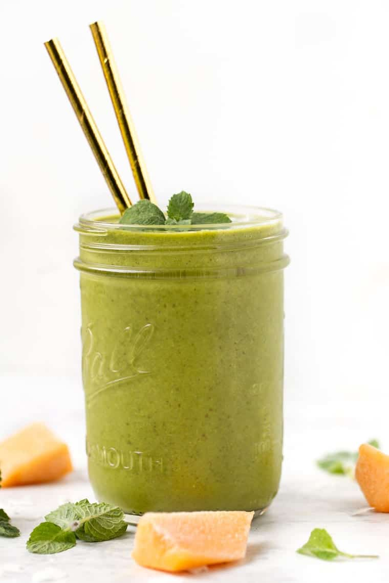 Minty Melon Smoothie Recipe