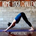 At Home Yoga Challenge: Weekly Schedule #2
