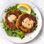 Vegan Quinoa Crab Cakes