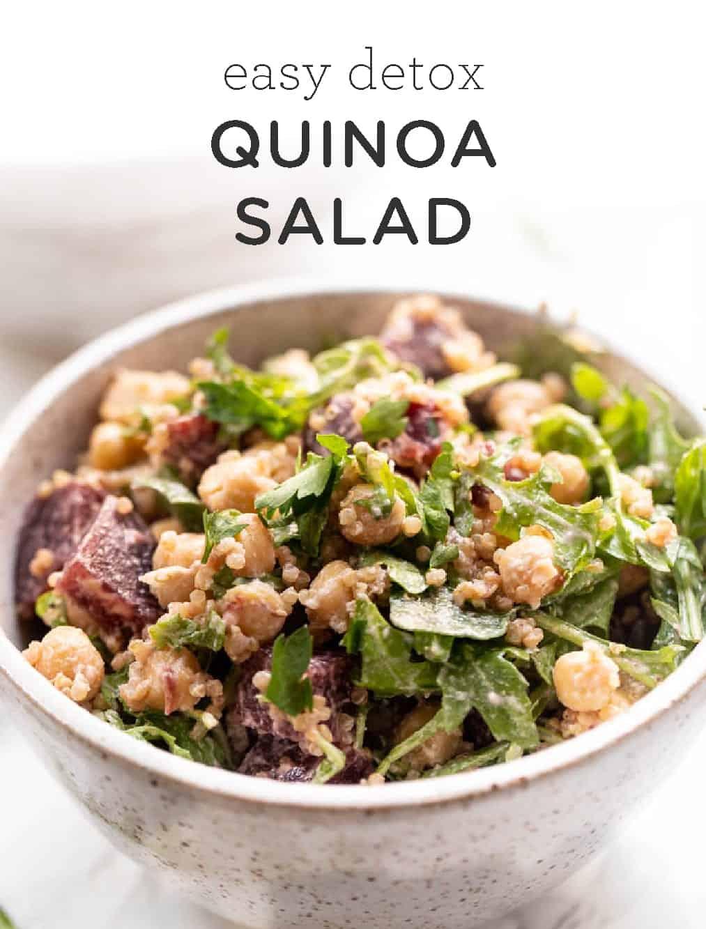 Healthy Detox Quinoa Salad