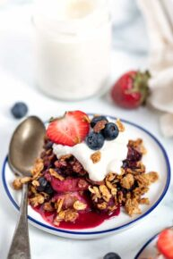 Triple Berry Crumble Recipe