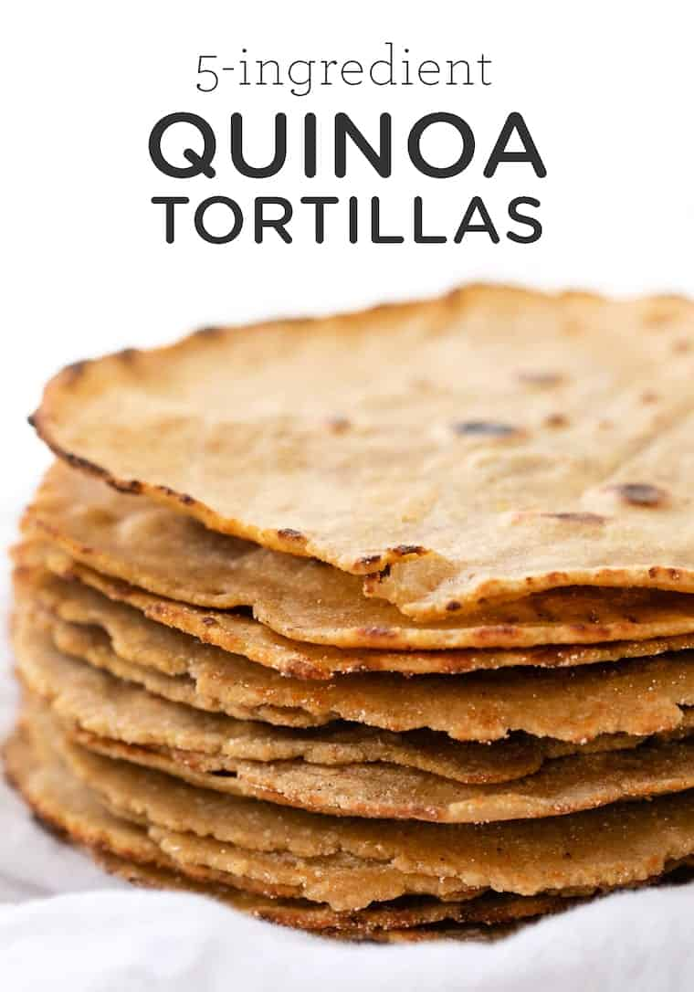 Corn-Free Tortilla Recipe