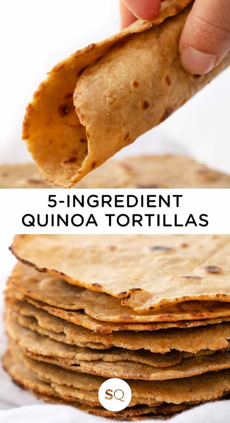 The Best Quinoa Tortillas