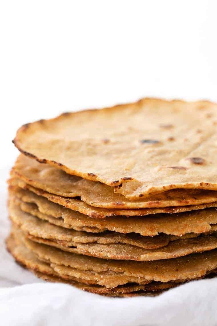 Quinoa Flour Tortilla Recipe