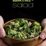 Creamy Vegan Broccoli & Quinoa Salad