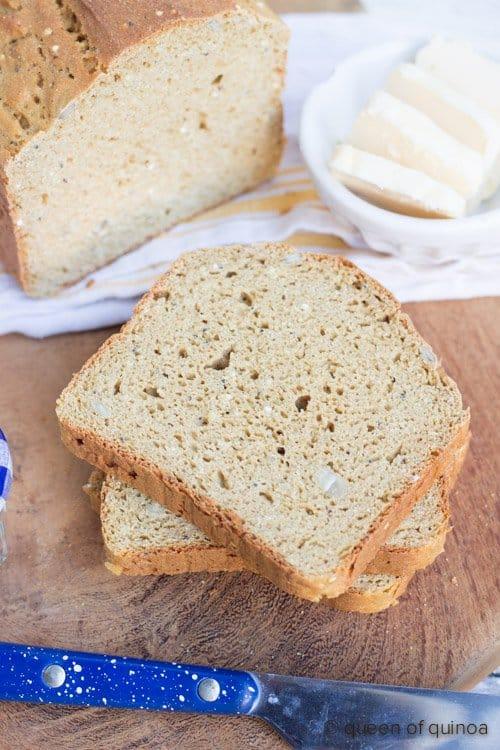 Gluten-Free Quinoa Bread Recipe