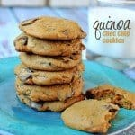 Quinoa Chocolate Chip Cookies {guest post}