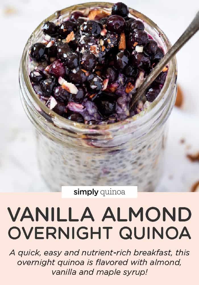 Vanilla Almond Overnight Quinoa