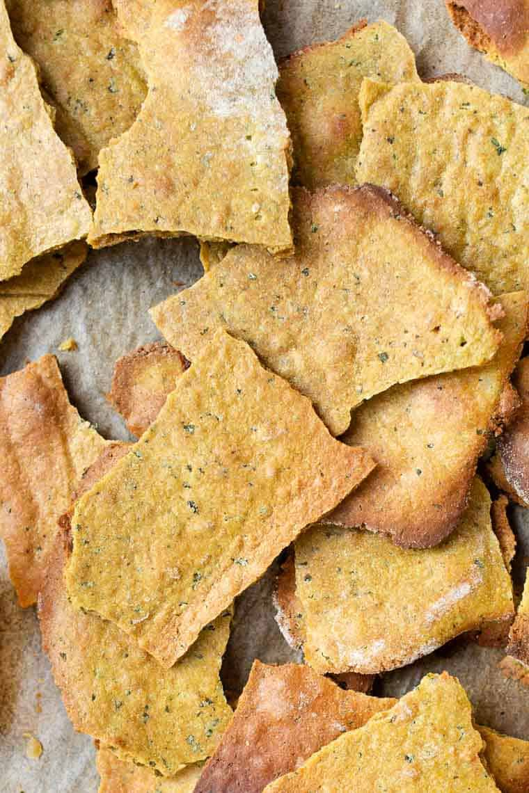 Healthy Gluten-Free Crackers