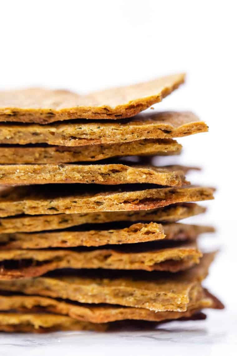 Quinoa Flour Crackers