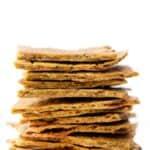Vegan Quinoa Crackers with Kale