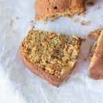 Healthy Quinoa Carrot Cake
