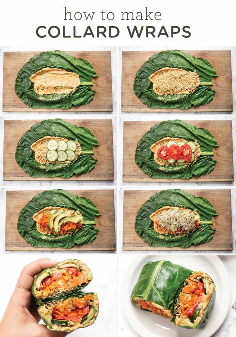 How to Make Collard Wraps