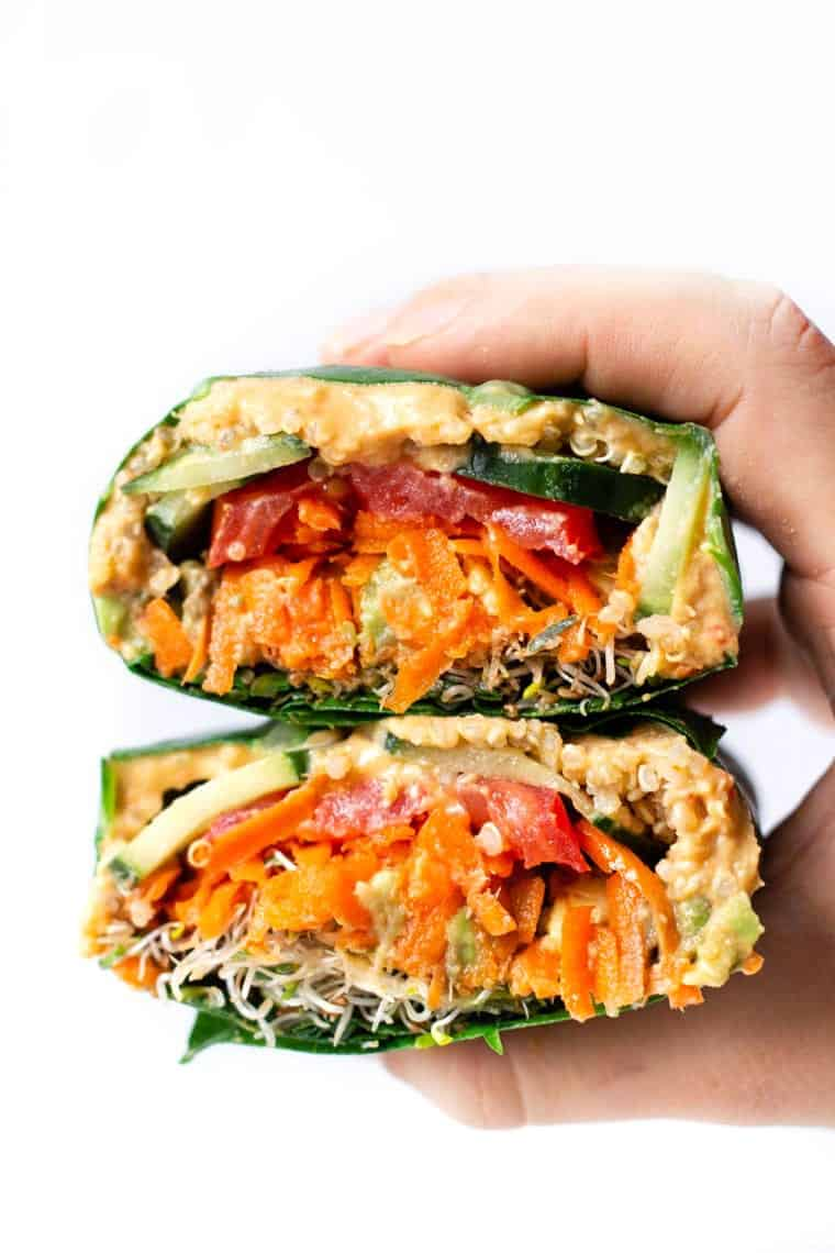 Healthy Lunch Wrap Recipe