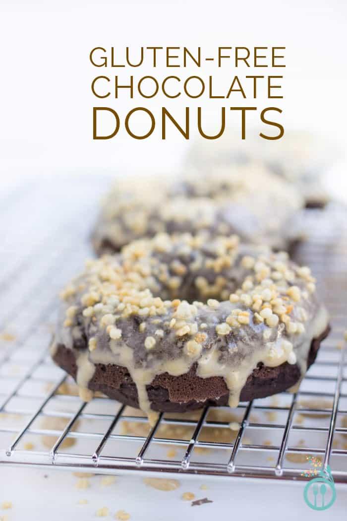 Gluten-Free Chocolate Donuts with an Espresso Glaze