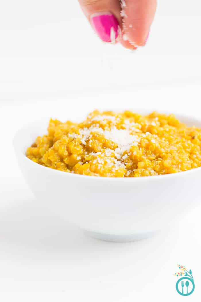 Butternut Squash Risotto using Quinoa