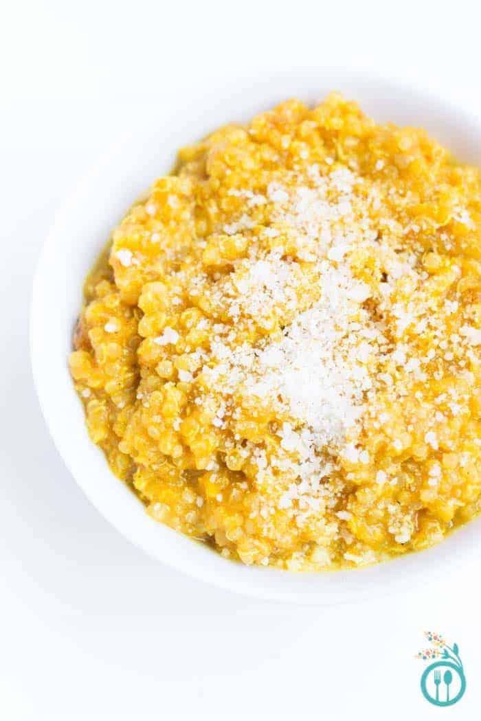 Butternut Squash Quinoa Risotto via simplyquinoa.com