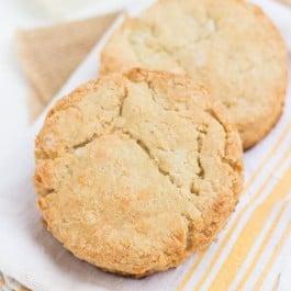 Gluten-Free Cheddar Quinoa Biscuits