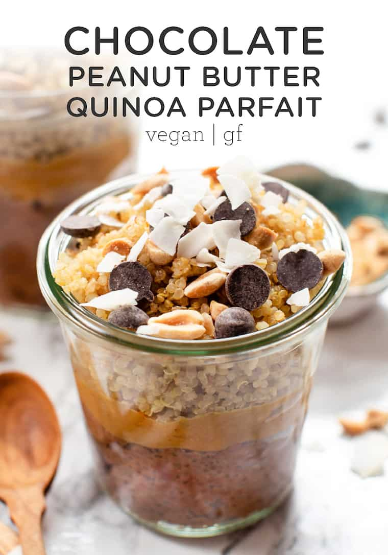 Healthy Breakfast Parfaits with Chia Pudding