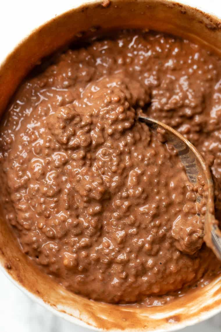 How to make chocolate chia pudding