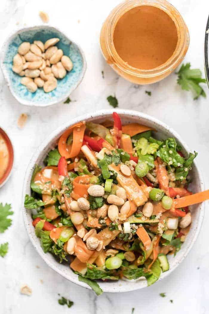 Pad Thai Quinoa Salad