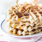 Perfect Gluten-Free Waffles using @BobsRedMill 1-to-1 Baking Flour