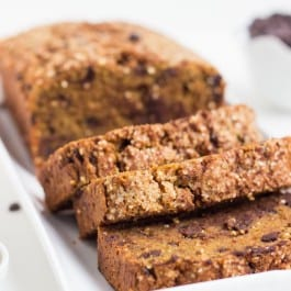 Pumpkin Chocolate Chip Quinoa Bread