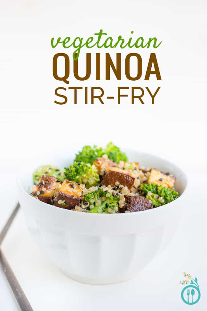 Vegetarian Quinoa Stir-Fry with Tofu & Broccoli from www.simplyquinoa.com