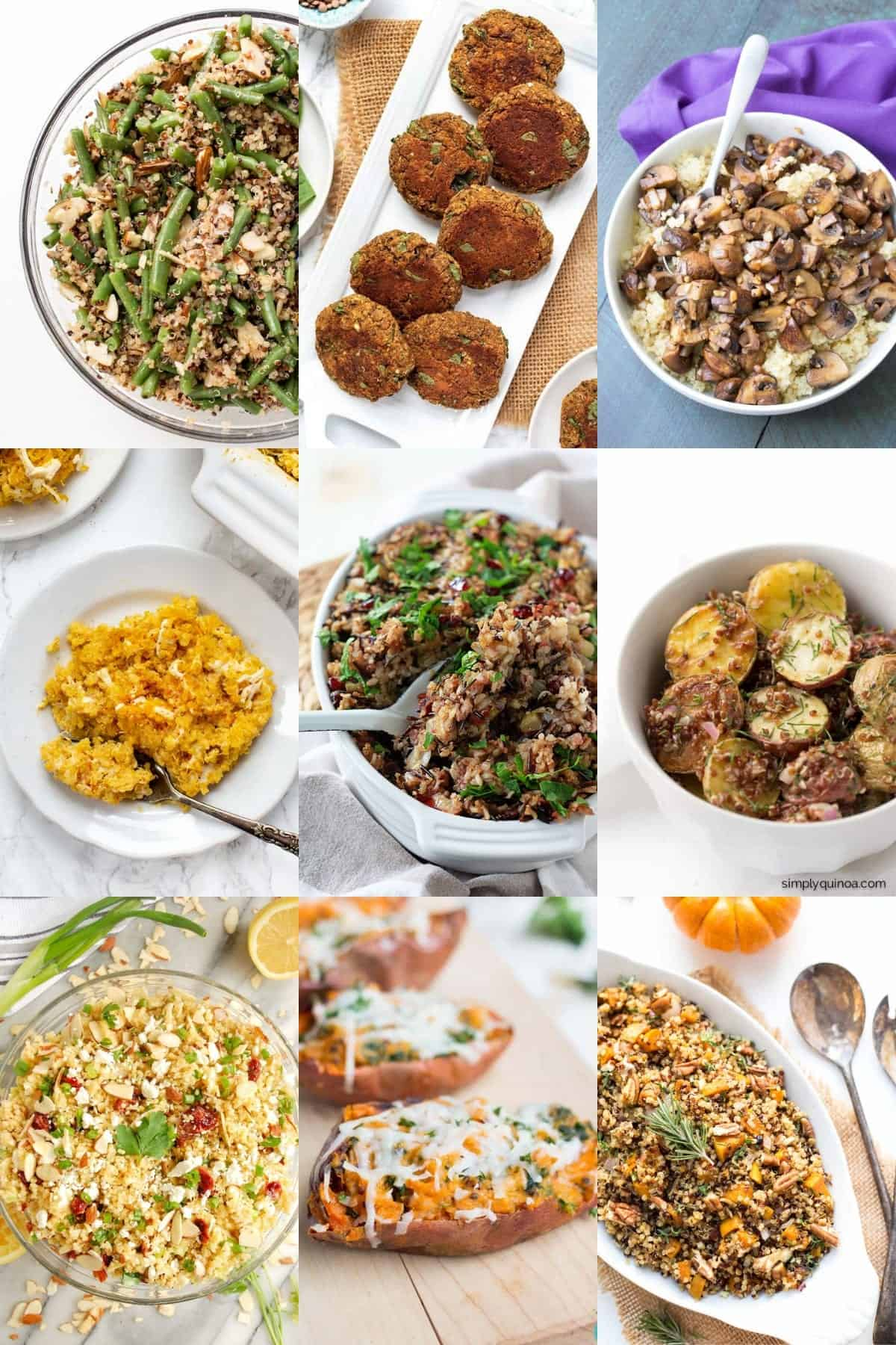 Quinoa Thanksgiving Recipes