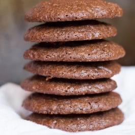 Dark Chocolate Quinoa Cookies - with a recipe + a video