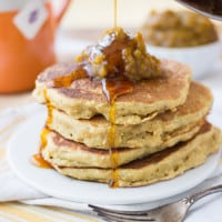 Pumpkin Quinoa Pancakes - healthy, gluten-free and just delicious!