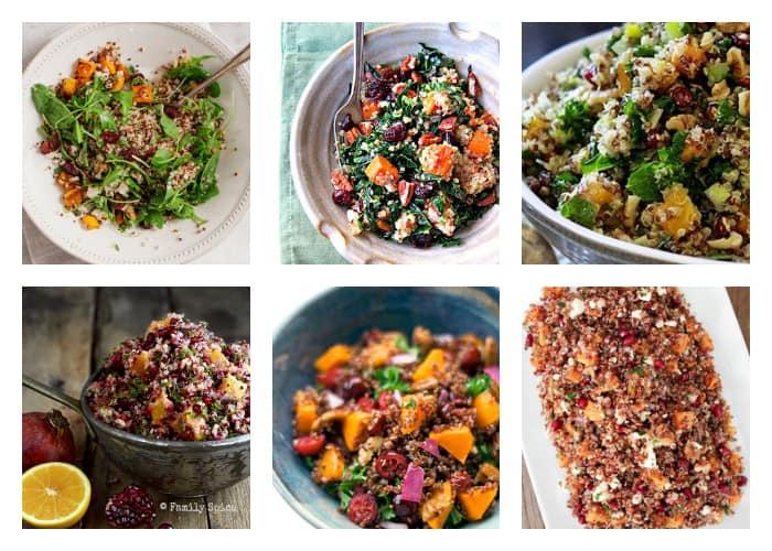 The Best Quinoa Thanksgiving Recipes - Favorite Quinoa Salads