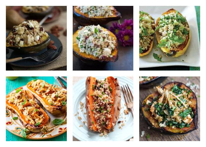 The Best Quinoa Thanksgiving Recipes - Quinoa Stuffed Squash