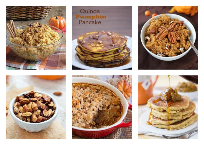 The Best Quinoa Thanksgiving Recipes - Quinoa Breakfast Mornings with Pumpkin