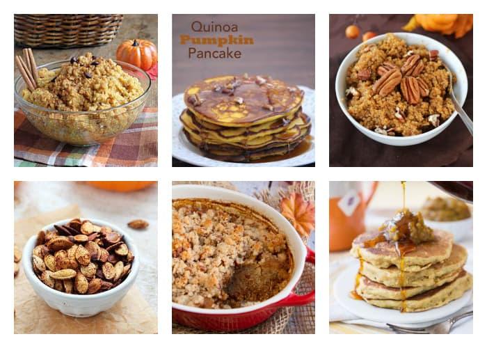The Best Quinoa Thanksgiving Recipes - Quinoa Breakfast Mornings with Pumpkin