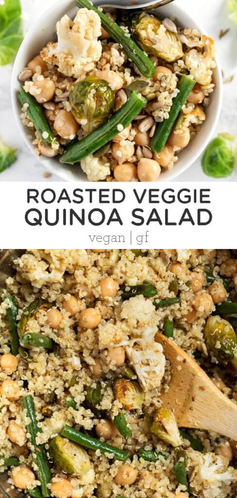 Roasted Veggie Quinoa Salad