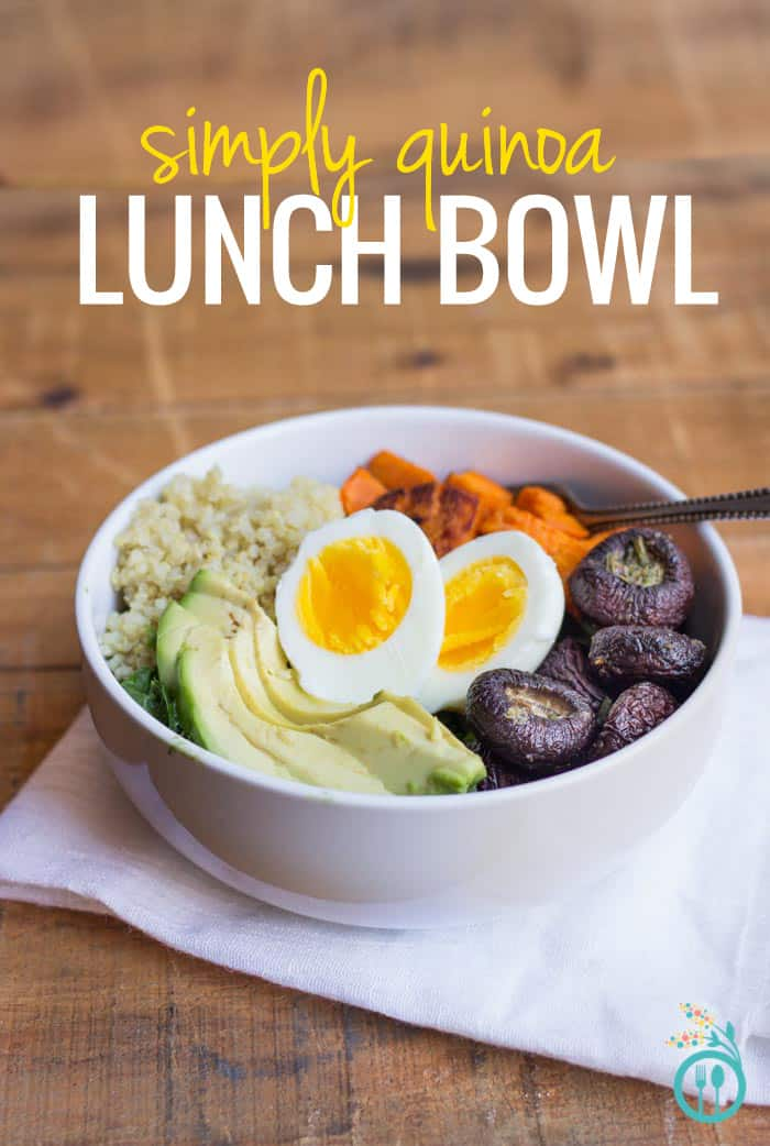 My Simply Quinoa Lunch Bowl