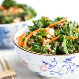 Asian Kale Quinoa Salad